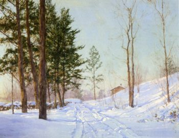In the Berkshire | Walter Launt Palmer | oil painting