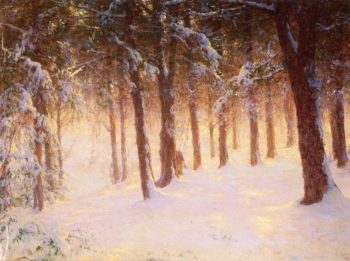 Jewelled Pines | Walter Launt Palmer | oil painting
