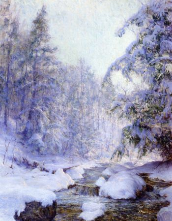 Kinderhook Creek   Walter Launt Palmer   oil painting