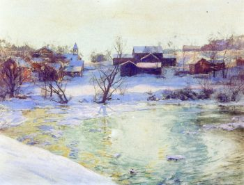 Normansvale | Walter Launt Palmer | oil painting