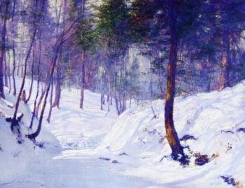 Slumbering Brook   Walter Launt Palmer   oil painting