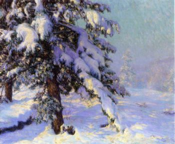 Snow Laden | Walter Launt Palmer | oil painting