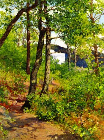 View of the Catskill Mountain House | Walter Launt Palmer | oil painting
