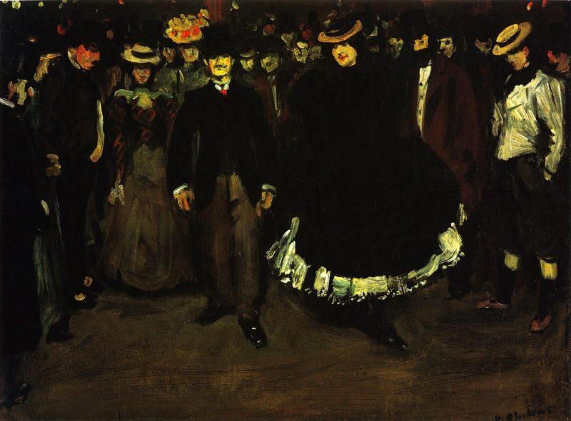 Bal Bullier | William James Glackens | oil painting