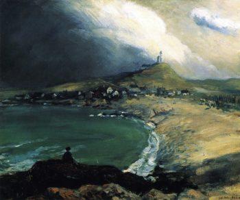 Cap Noir Saint Pierre | William James Glackens | oil painting