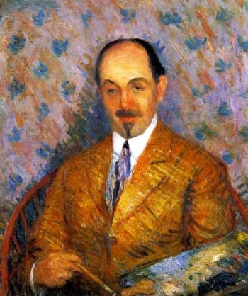 Ernest Lawson | William James Glackens | oil painting