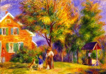 Home in New Hampshire | William James Glackens | oil painting