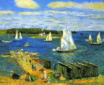 Mahone Bay | William James Glackens | oil painting