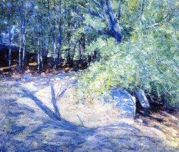 Path in the Woods | Julian Alden Weir | oil painting