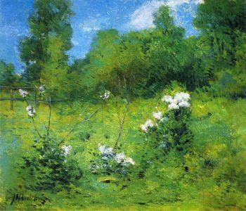 Rhododendrons | Julian Alden Weir | oil painting