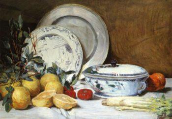Still LIfe | Julian Alden Weir | oil painting