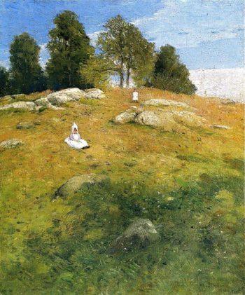 Summer Afternoon Shinnecock Landscape | Julian Alden Weir | oil painting