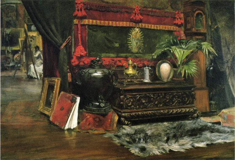 A Corner of My Studio | William Merritt Chase | oil painting