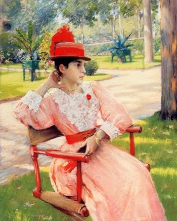 Afternoon in the Park | William Merritt Chase | oil painting