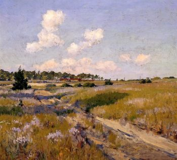 Afternoon Shadows | William Merritt Chase | oil painting