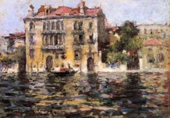 After the Rain | William Merritt Chase | oil painting