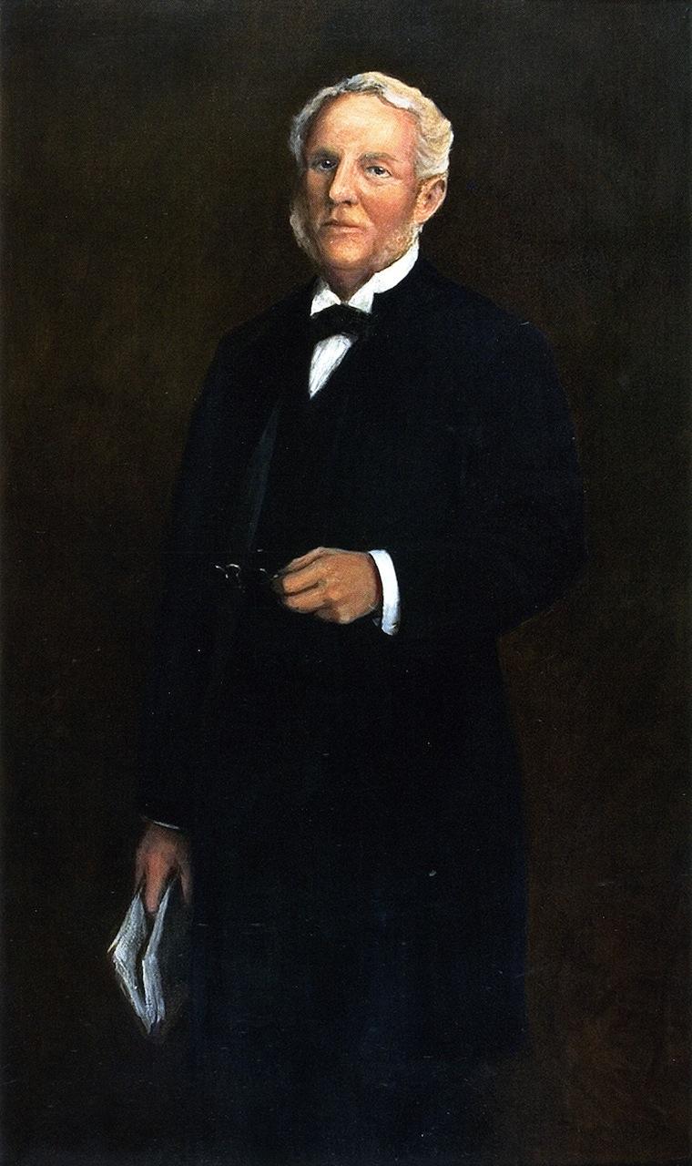 Albert Harkness | William Merritt Chase | oil painting