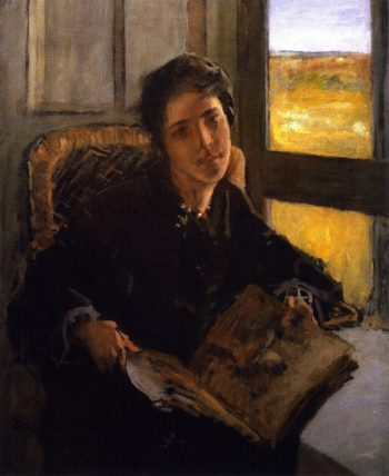 Alice Dieudonnee Chase Shinnecock Hills | William Merritt Chase | oil painting