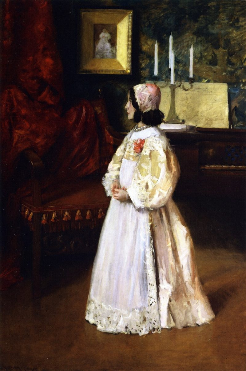 Alice Dieudonnee Chase   William Merritt Chase   oil painting