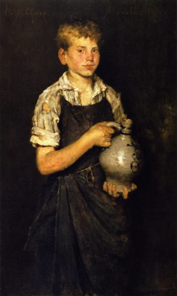 Apprentice | William Merritt Chase | oil painting