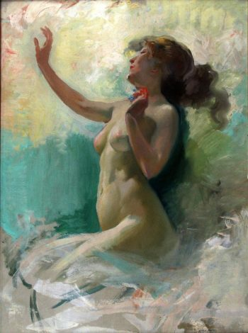 Desnudo | Julio Vila Prades | oil painting