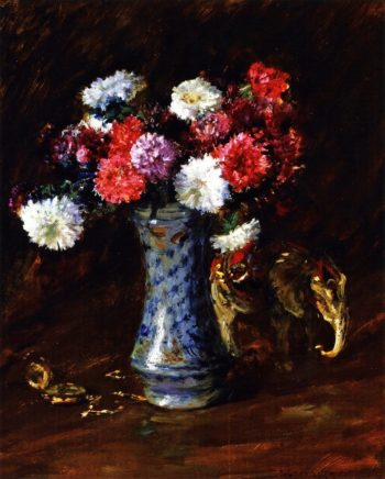 Asters | William Merritt Chase | oil painting