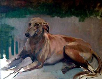 Julio Vila Prades perro | Julio Vila Prades | oil painting
