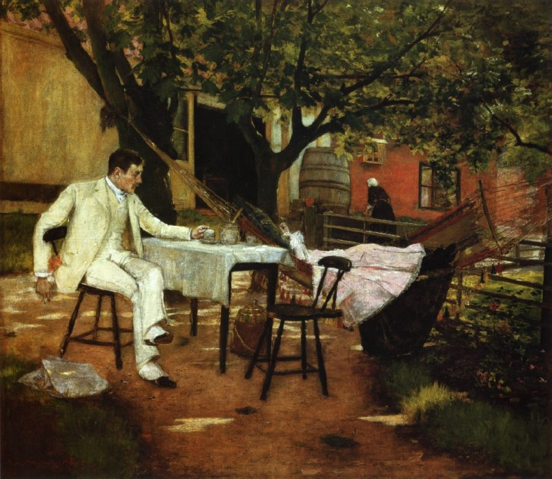 A Summer Afternon in Holland | William Merritt Chase | oil painting