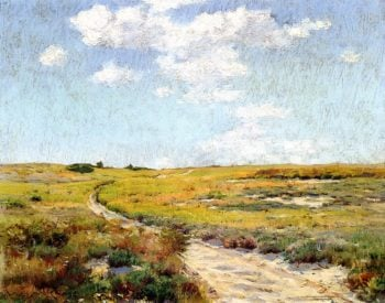 A Sunny Afternoon Shinnecock Hills | William Merritt Chase | oil painting
