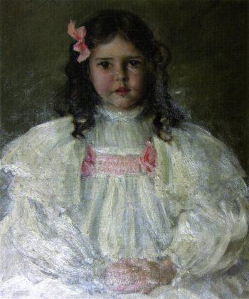 Caroline Allport   William Merritt Chase   oil painting