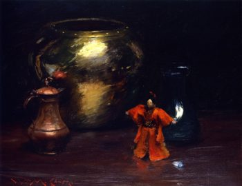 Copper and Brass | William Merritt Chase | oil painting