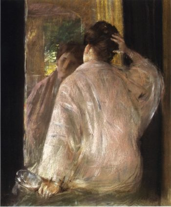 Dorothy 1   William Merritt Chase   oil painting