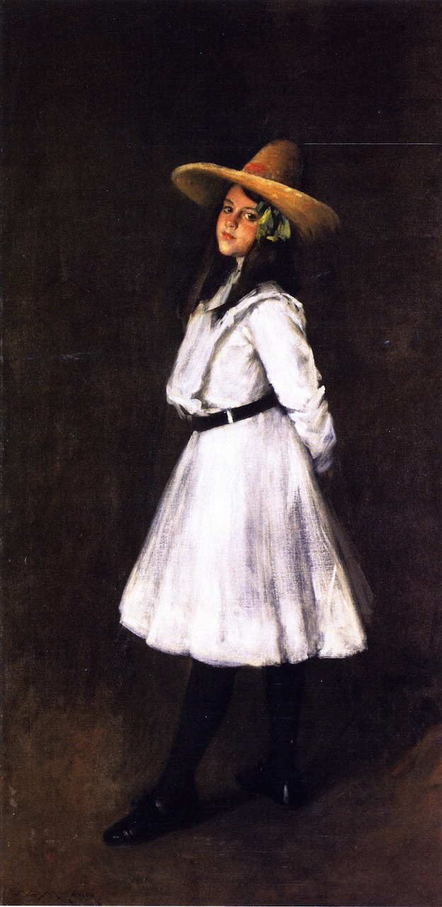 Dorothy and Her Sister | William Merritt Chase | oil painting