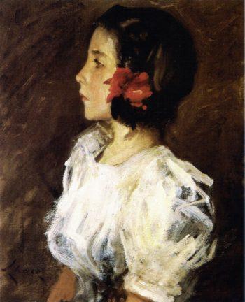Dorothy   William Merritt Chase   oil painting