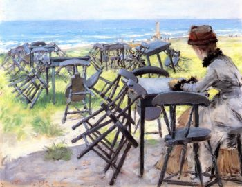 End of the Season | William Merritt Chase | oil painting