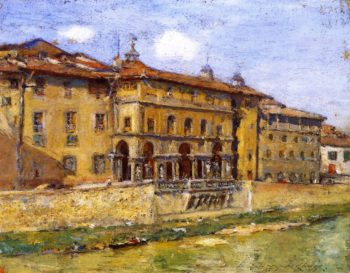 Florence | William Merritt Chase | oil painting