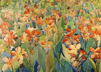 Bed of Flowers | Maurice Prendergast | oil painting