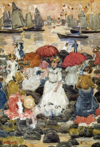 Beechmont | Maurice Prendergast | oil painting