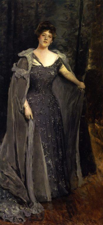 Hilda Spong | William Merritt Chase | oil painting