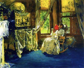 Interior | William Merritt Chase | oil painting