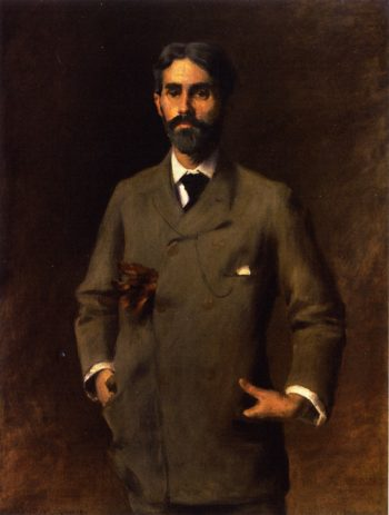 Jules Turcas | William Merritt Chase | oil painting