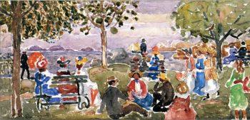 Gloucester Park | Maurice Prendergast | oil painting