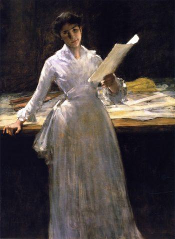Memories | William Merritt Chase | oil painting