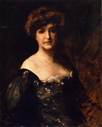 Minnie Madden Riske | William Merritt Chase | oil painting