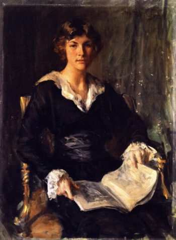 Miss Savageau | William Merritt Chase | oil painting