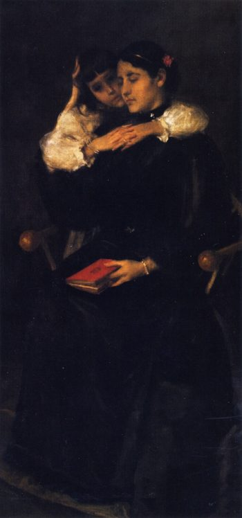 Mother and Child | William Merritt Chase | oil painting