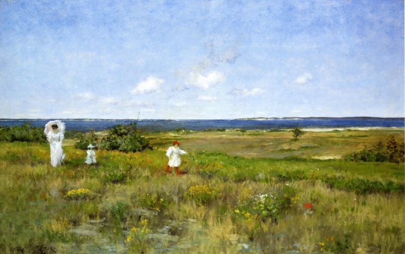 Near the Beach Shinnecock 1 | William Merritt Chase | oil painting