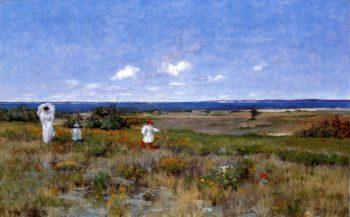 Near the Beach Shinnecock | William Merritt Chase | oil painting