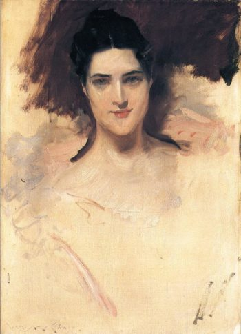 Portrait of a Lady | William Merritt Chase | oil painting