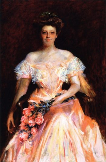 Portrait of a Woman | William Merritt Chase | oil painting